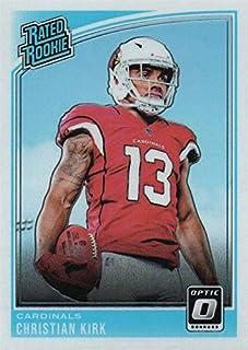 Christian Kirk Football Card (Arizona Cardinals) 2018 Donruss Optic Rated Rookie #163