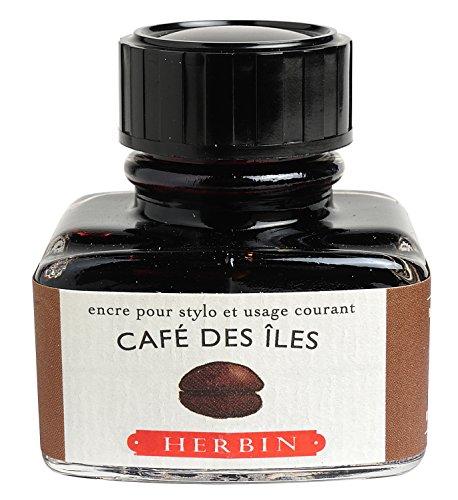 J.Herbin 13046T - Tinta para pluma estilográfica (30 ml), color marrón café