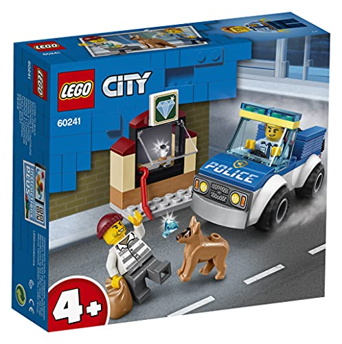 LEGO 60241 - Polizeihundestaffel, City, Bauset