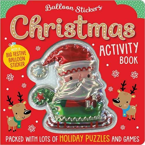 Christmas Balloon Sticker Activity Book