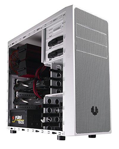 BitFenix BFC-NEO-100-WWXKW-RP Neos Midi-Tower PC-Gehäuse (ATX, 2X 5,25 Externe, 2X 3,5 interne, USB 3.0) weiß
