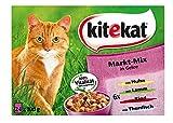 Kitekat Katzenfutter Nassfutter Markt Mix in Gelee
