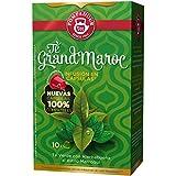 Cápsulas de té compatibles con Nespresso, GRAND MOROCCO = 4 x 10 cápsulas (total = 40 tapas)