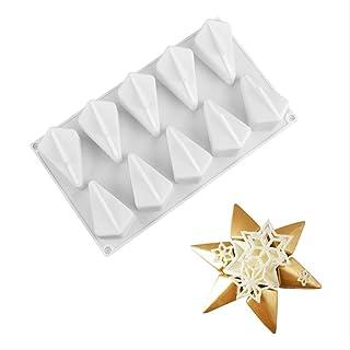 1 Mans Star Mousse Cake Pan Hexagon Star Polygon Molde De Silicona Diy Herramienta Para Hornear