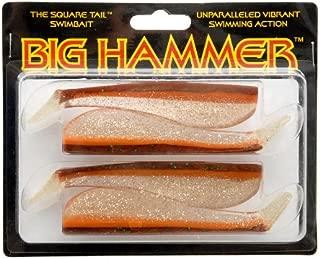 Big Hammer Swimbait, Calico Hunter, 5-Inch