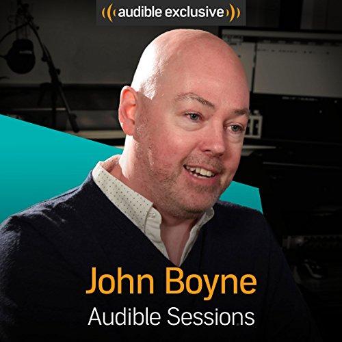 John Boyne audiobook cover art