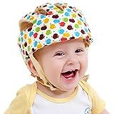 SONGZHILONGベビー・幼児 用 可愛い 洗える スポンジ ヘルメット 綿100% (カラフル)