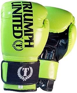 Triumph United TBC Glove - Lime - 14 OZ