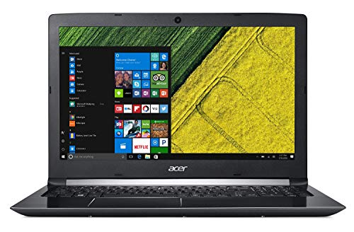 "Acer Aspire 5 Laptop, 15.6"" Full HD Display, 8th Gen Intel Core i7-8550U, NVIDIA GeForce MX150, 12GB DDR4, 256GB SSD, 1TB HDD, Backlit Keyboard, Windows 10 Home, A515-51G-84SN"