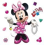 AG Design Disney Minnie Maus Kinderzimmer Wand Sticker,