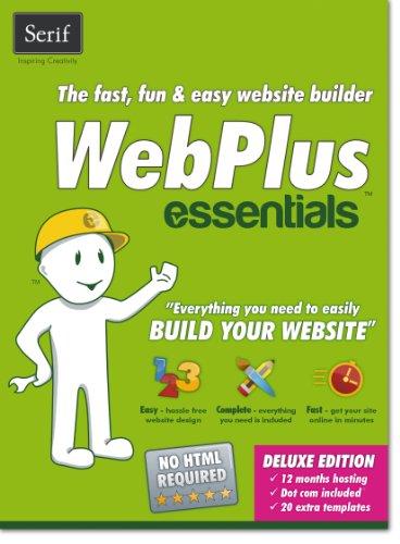 Serif WebPlus Essentials website designer, SW2023 (website designer CW41)