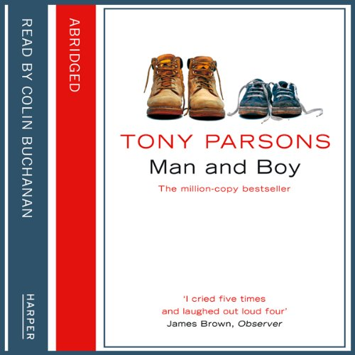 Man and Boy audiobook cover art