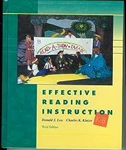 Effective Reading Instruction, k-8