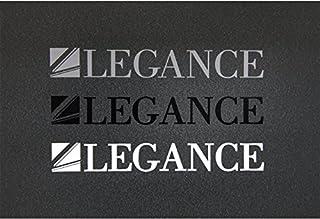 【LEGANCE】レガンス LEGANCEステッカー シルバー(23cm×4cm)