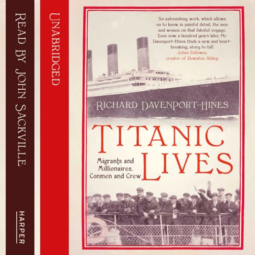 Titanic Lives audiobook cover art