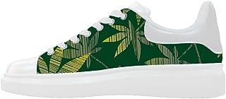 Daniel Turnai Fan Custom Women`s Shoes Green Grass New Sneaker Canvas Thick Bottom