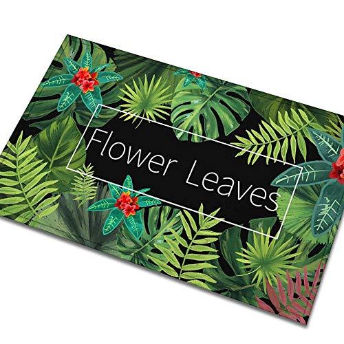 Rmbearmoni deurmat voor tapijten, voetmat in het Engels, creatief, Amerikaans, waterdicht, antislip, 45 x 75 cm