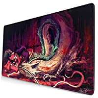 千尋の神隠し マウスパッド 15.8 x 29.5インチ 多目的 快適 防水 マウスパッド デスクマット ゲーマー オフィス 自宅用 (40 x 75cm)
