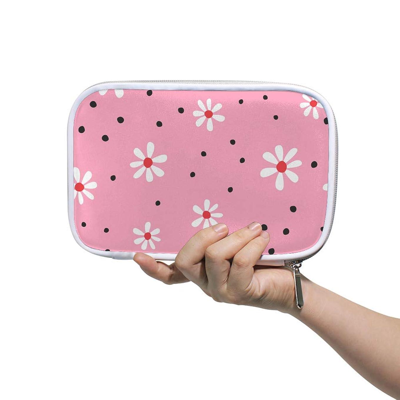 安心鑑定胴体ZHIMI 化粧ポーチ メイクポーチ レディース コンパクト 柔らかい おしゃれ コスメケース 化粧品収納バッグ 綺麗な花柄 機能的 防水 軽量 小物入れ 出張 海外旅行グッズ パスポートケースとしても適用