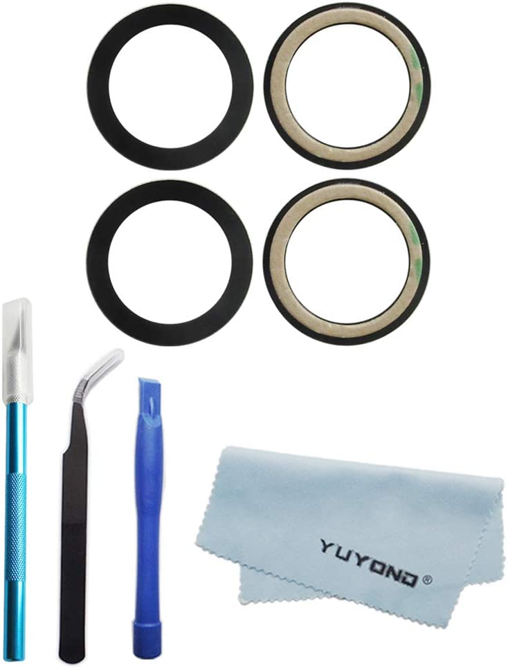 YUYOND 2pcs OEM Original Rear Omaha Mall for Glass Lens Sales sale Replacement Camera