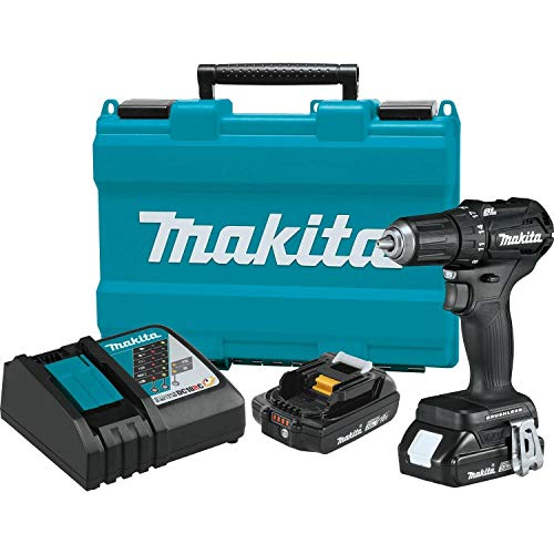 MAKITA XFD11RB 18V LXT Sub-Compact Brushless Cordless 1/2-Inch Driver-Drill Kit (Renewed)