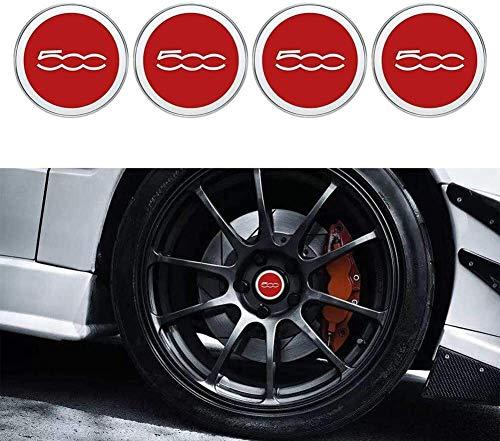YXZLY 4 Stück 60 mm Auto-Rad-Mitte-Kappen-Hub-Abdeckungs-Naben-Center Caps Auto Dekoration Fit for car Styling Fit...