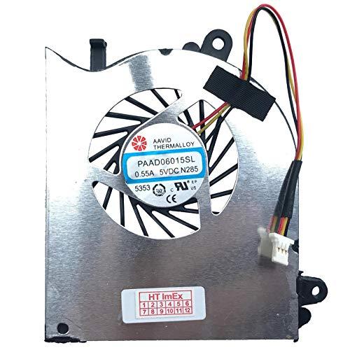 (Version recht - für CPU) Lüfter Kühler Fan für MSI GS60 2QC, GS60 2QC (MS-16H7), GS60 2QD, GS60 2QD (MS-16H7), GS60 2QE, GS60 2QE (MS-16H7), GS60 2QE Ghost Pro, GS60 2QE Ghost Pro 3K