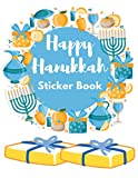 Happy Hanukkah Sticker Book: Blank Collecting Album for Favorite Stickers Gift for Kids