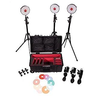 Rotolight Neo Three Light Studio Kit with Hard Roller, Stands and 360 Pro Ball Head Mounts (B01895HJCO)   Amazon price tracker / tracking, Amazon price history charts, Amazon price watches, Amazon price drop alerts