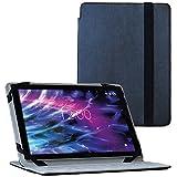 UC-Express Tablet Tasche für Medion E6912 Hülle Schwarz Schutzhülle Hülle Cover Schwarz