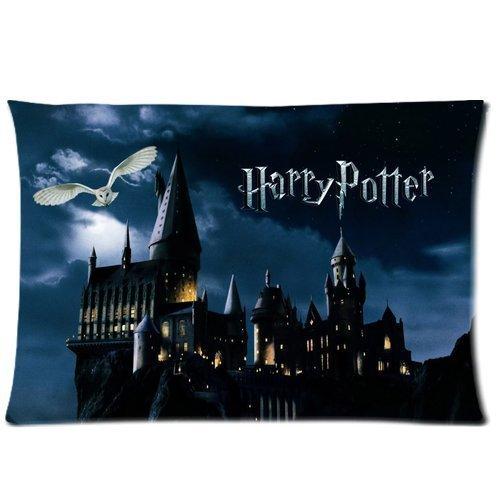 Uniek huis Harry Potter rechthoek kussensloop 20-inch door 30-inch (twee zijden)