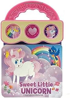 Sweet Little Unicorn: Interactive Children's Sound Book (3 Button Sound) (Early Bird Sound Books)