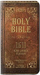 RW2890 Holy Bible 1611 King James Version PU Leather Flip Case Cover for iPhone 11