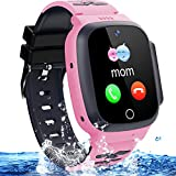 Best Gps Tracker For Kids - Kids Waterproof Smart Watch Phone Girls Boys Smartwatch Review