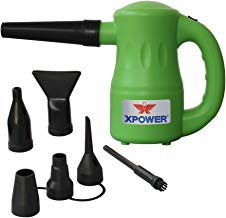 XPOWER A-2 Airrow Pro Multi-Use Electric Computer Duster, Canned Air Replacement, Dryer, Air Pump Blower – Green