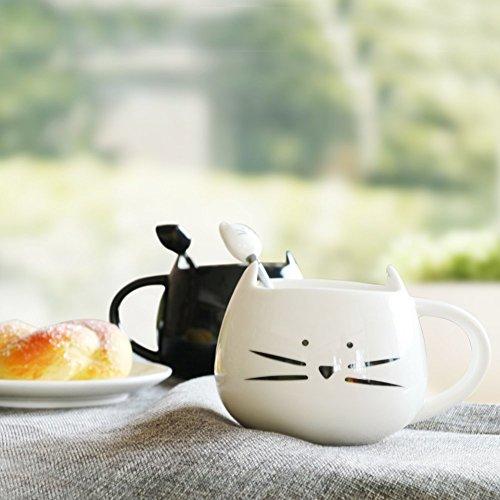 Niedliche Kaffeetassen-Set für Frauen aus Keramik