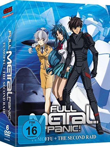 Full Metal Panic? Fumoffu & Full Metal Panic! The Second Raid (OVA) - Staffel 2 - Gesamtausgabe - [DVD]