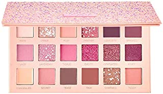 18 Colors Pigmented The New Nude Eyeshadow Palette Blendable Long Lasting Eye Shadow Palettes Neutrals Smoky Multi Reflect...