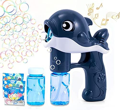 Swkangrd Bolle di Sapone Bambini,Sparabolle di Sapone,con 2 Bottiglie di Bolle,Party Bubbles Confezione da 2pz