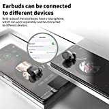 【Latest Model】 AIKELA Wireless Headphones Bluetooth 5.0 TWS Headphones Wireless Earphones Noise Cancelling Wireless Earbuds with Mic LED Display IPX7 Waterproof for iPhone Android iOS