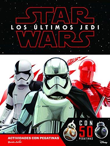 Star Wars. Los últimos Jedi. Actividades con pegatinas