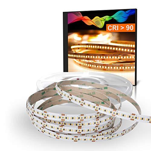 LED 2216 Bande blanc chaud (2700K) CRI 90 90W 5m 24V IP20