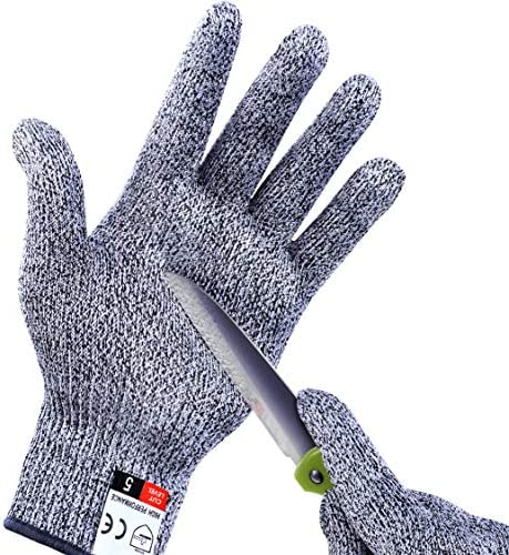 2Pcs Cut Resistant Gloves High Performance Level 5 Protection for Kitchen Premium Durable Safety product image