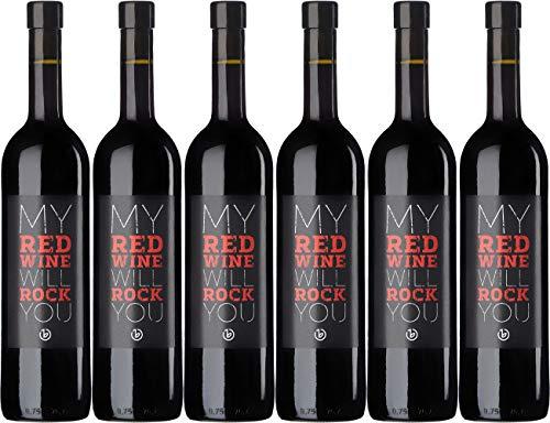 Bernhardt MY RED WINE Cuvée rot 2017 Trocken (6 x 0.75 l)