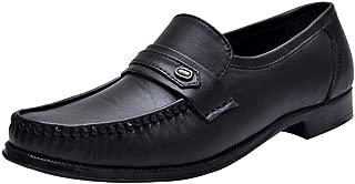 HiREL'S Men Mocassion Slip On Formal Shoes