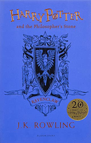 Harry Potter and the Philosopher's Stone - Ravenclaw Edition: J.K. Rowling (Ravenclaw Edition - Blue)
