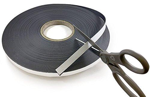 Self Adhesive Flexible Magnetic Tape 100' Length! (1/2')