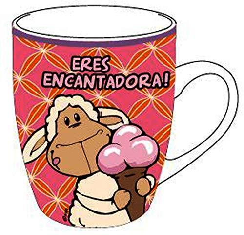 NICI 36796 Tasse ERES ENCANTADORA ! Porzellan Kaffeebecher Spanisch