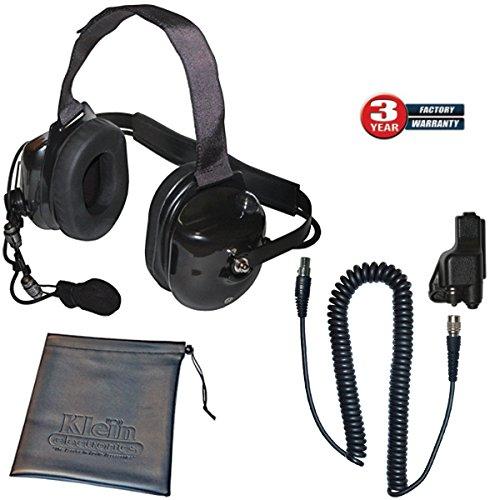 Affordable Klein Titan Extreme Noise Black Headset for Motorola MTS2000 XTS2500 MTX8000 PM1500 Vikin...