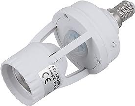 FRCOLOR E27 Bulb Holder Smart Lamp Bulb Adapter Motion Sensor Light Socket